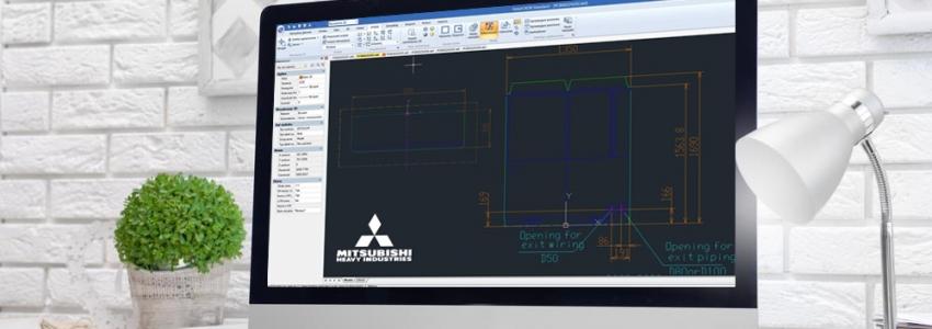 Biblioteki CAD - Mitsubishi Heavy Industries